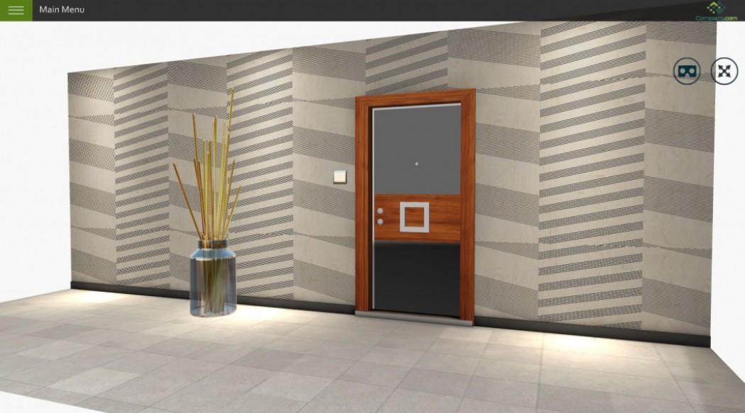 Webgl 3d Door Configurator Concept
